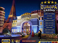 Lobby de Europa Casino - Descargar Casino