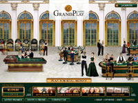 Lobby de Grand Play Casino - Descargar Casino